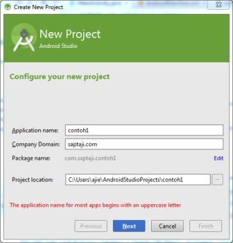 new project android studio res