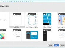 pilih activity android studio res