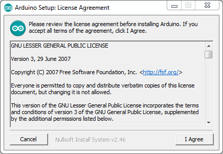 Cara Menginstal Software IDE Arduino-Arduino Setup_ License Agreement