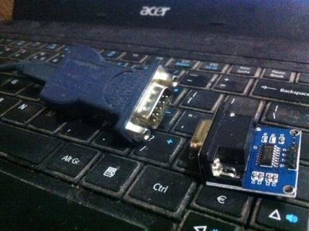 usb to serial vs modul konverter uart ttl to rs232