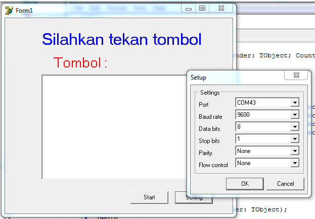 setting port com - program tombol hardware usb laptop pc