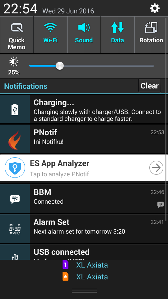 Notifikasi di home screen Android - Delphi XE8